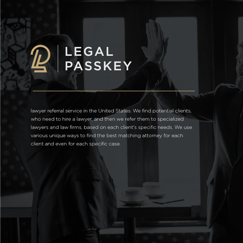 Logo designs for Legal Passkey
