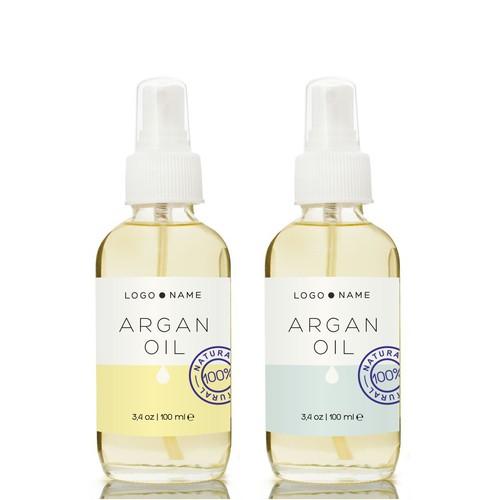 argan oil concept