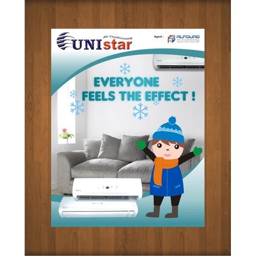 UNI STAR needs a new ad designed!