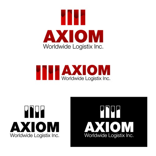 Strong and modern logo