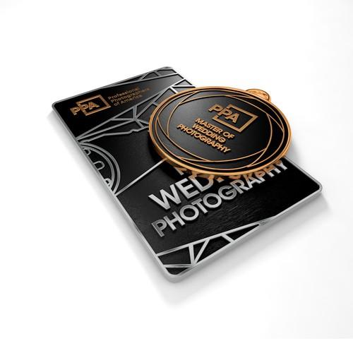 3D rendering for modern degree medals