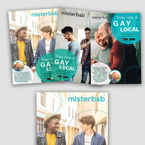 Magazine Ad for MisterB&B