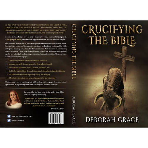 A cover for a book that exposes biblical issues