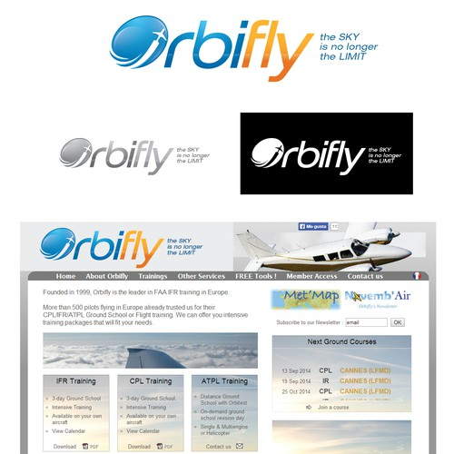 Full re-branding of our corporate identity, leader in Aeronautical Services