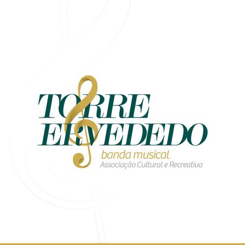 Elegant logo for a Musical Band