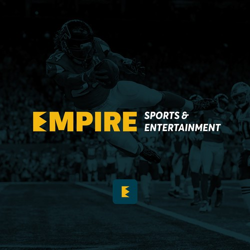 Logo concept for sports & entertainment