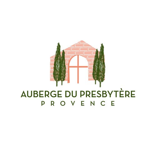 logo for a boutique hotel in the South of France