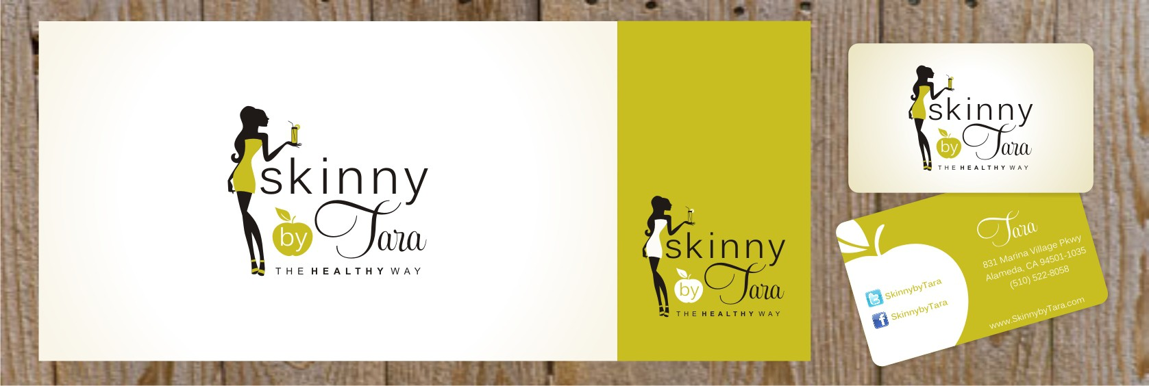 Logo for SkinnybyTara- Trendy Nutritionist