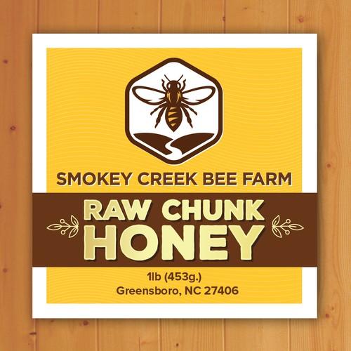 Beautiful Honey Label that sells!