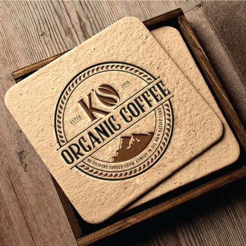 K's Organic Coffee.
