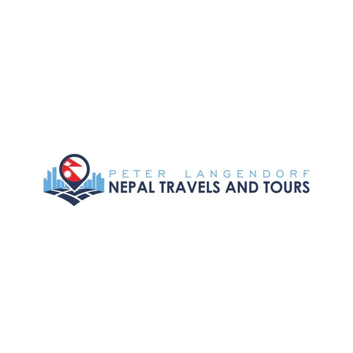 Clean logo for Nepal Travel Agency