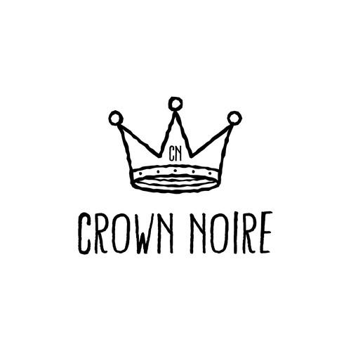 Crown Noire Logo Design