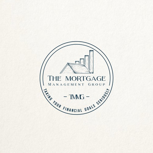 Classic logo for mortgage management