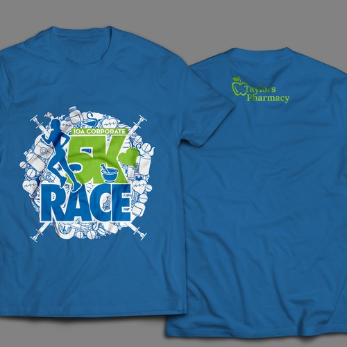 5K Race T-Shirt IOA Corporate