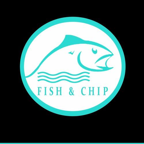 FISH & SHIPS logo design