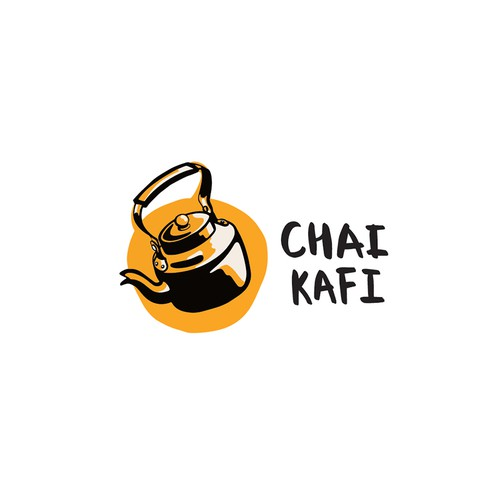 Logo for a tea brand.