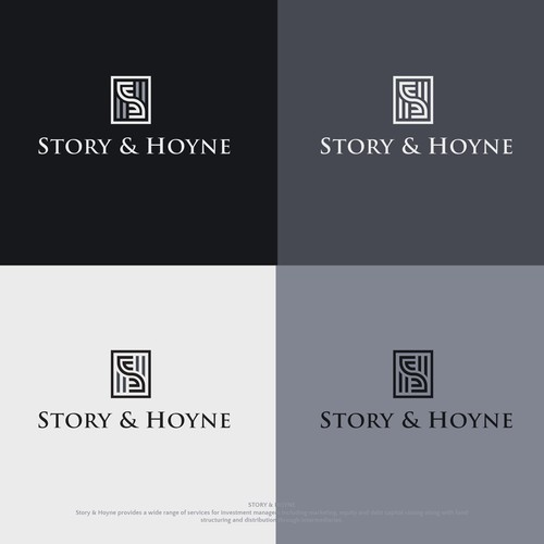 Proposed Story & Hoyne logo