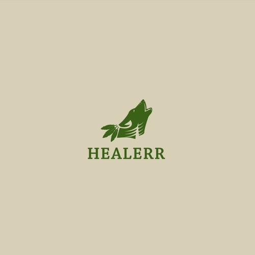 Bold logo concept for HEALERR