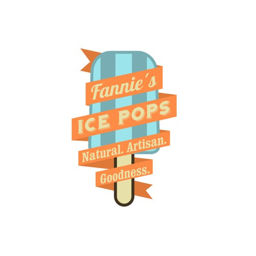 Brand ID Pack: help us create a vintage, yet hip, logo for our ice pops.