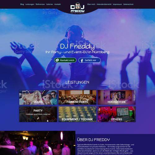 DJ Freddy - Website-Fresh-Up