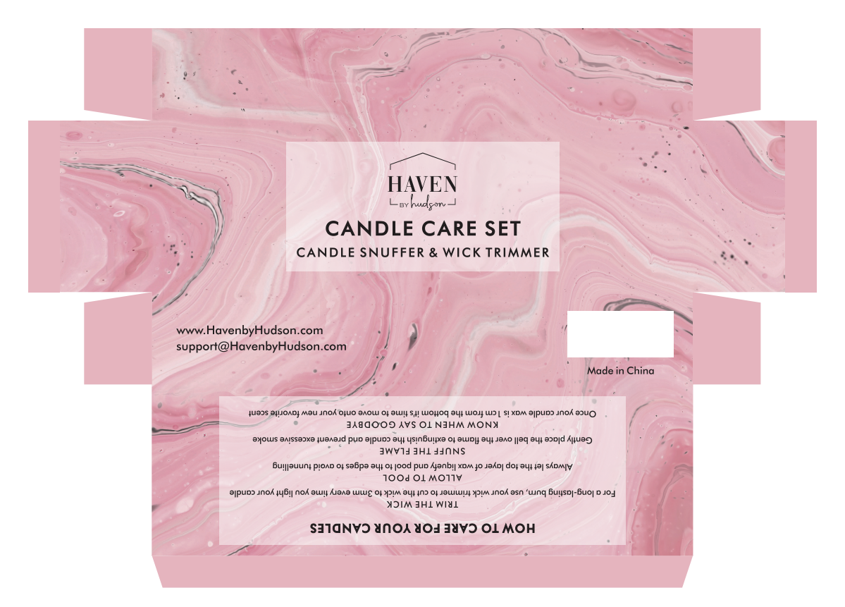 Candle Set Packaging