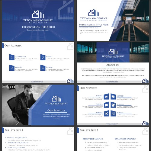Real Estate Investment Firm Powerpoint Templates
