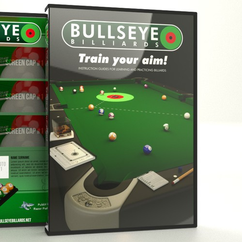 Bullseye Billard DVD cover