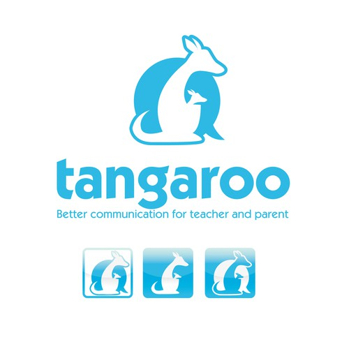 "Create logo for teach&parent engagement mobile app ""Tangaroo"""