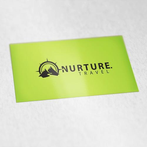Inspiring logo for Nurture.Travel