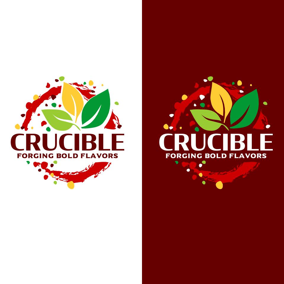 Crucible - A Bold, Exciting Salt & Seasoning Company Logo Design