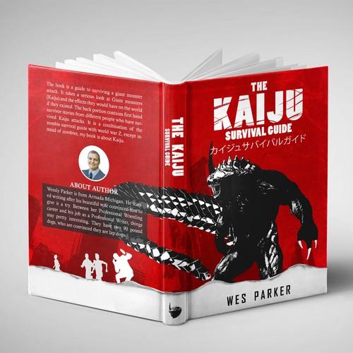 Design for kaiju gaint monster character