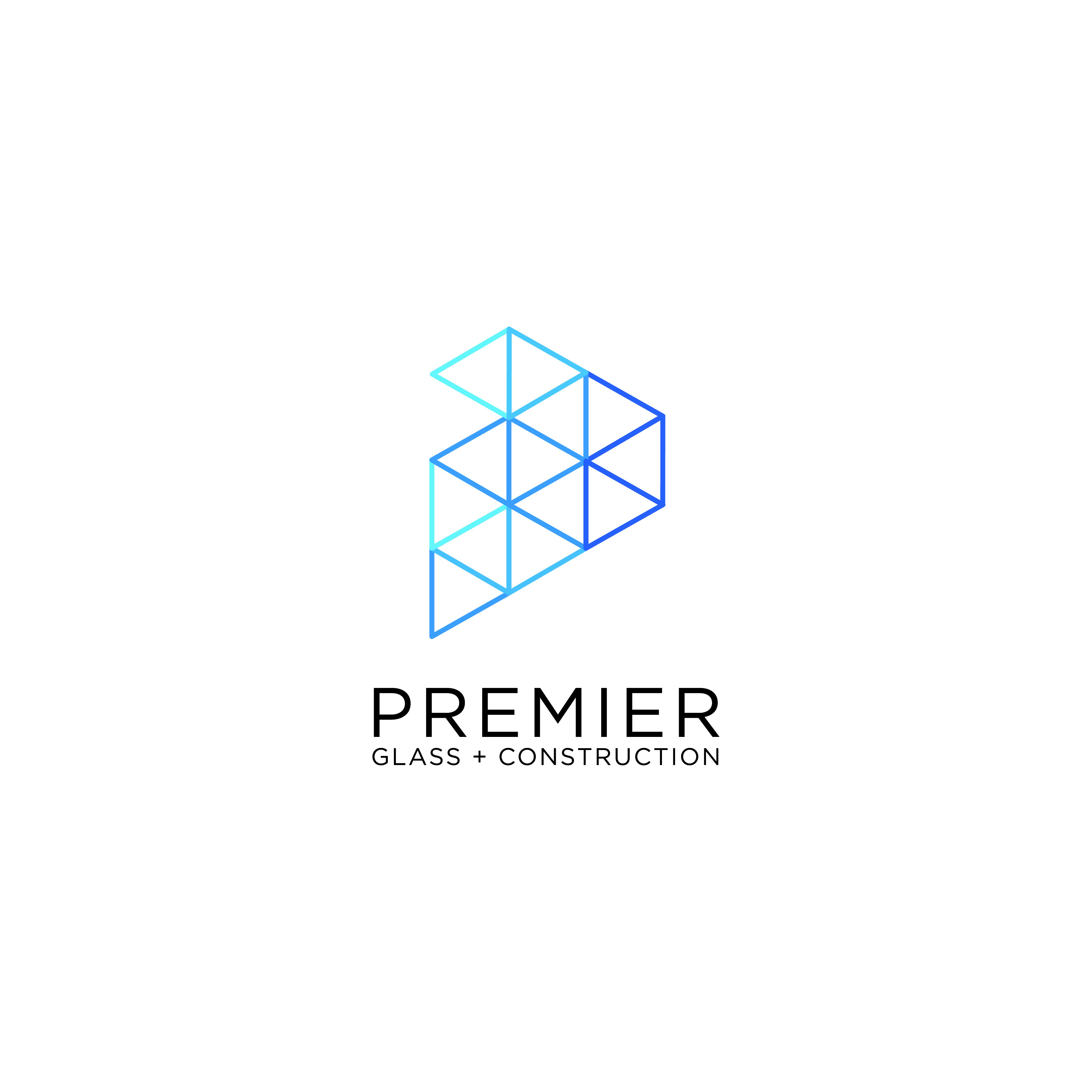New premium glass company after a modern logo to stand out