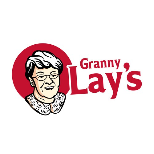 vector granny grandmother