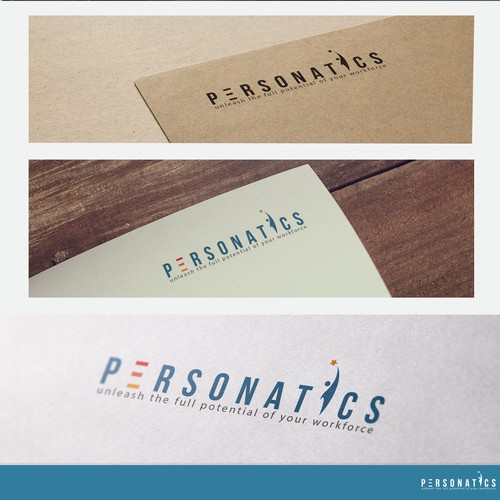 Concept logo for personatics