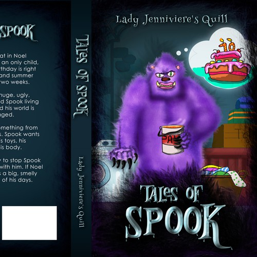 Book cover : Tales of Spook