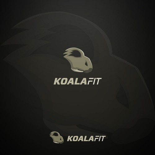 KoalaFit logo design