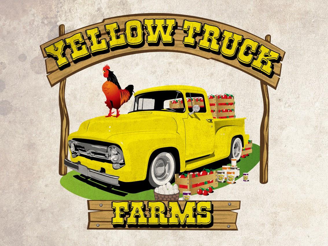 logo for Yellow Truck Farms