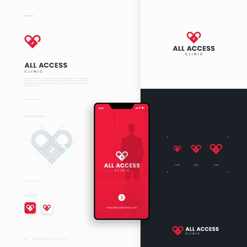 All Access Clinic Logo Design