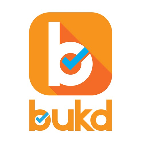 """Logo Concept for """"Bukd"""", a scheduling app."""