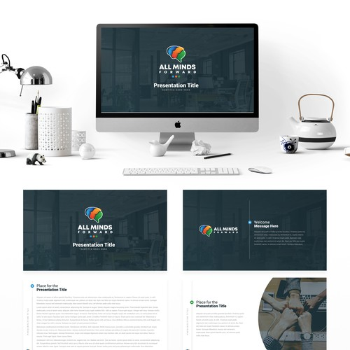 Presentation template for AllMinds