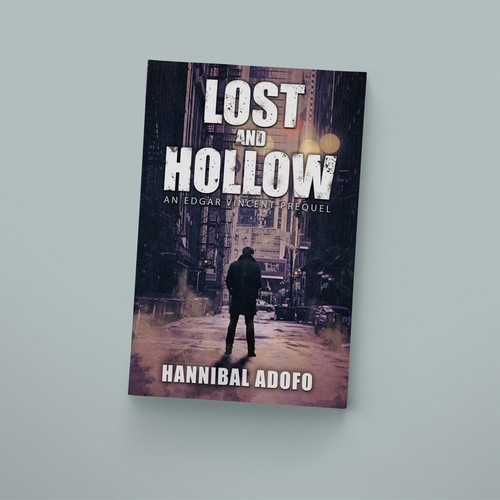 """Lost and Hollow"" book cover"