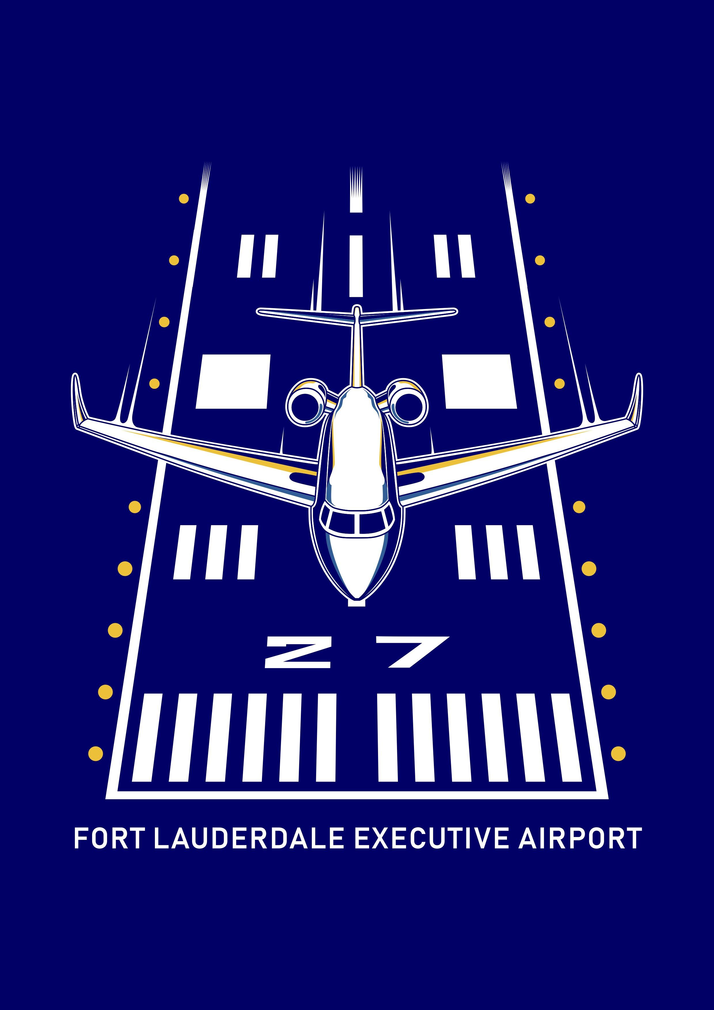 Modern Business Aviation Private Jet Themed T-shirt Design