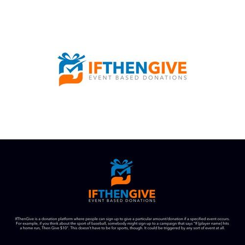 Creative logo needed for donation platform.