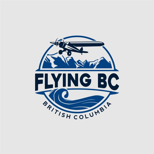 Stylized logo for aviation company