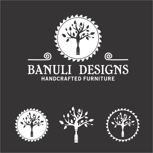 Sleek Logo for New Furniture Design Company - Banuli Designs