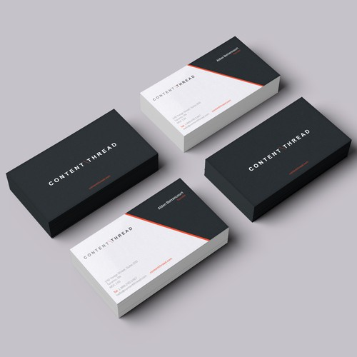 Create an amazing business card for a new IT agency!!!