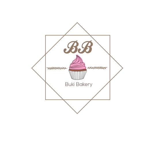 Logo Buki Bakery