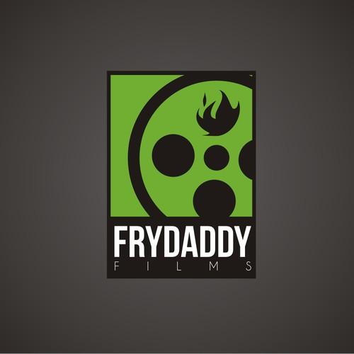 Bold logo for Fry Daddy Films