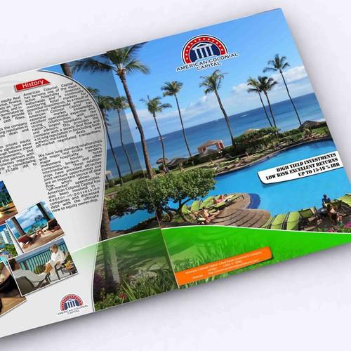 American Colonial Capital needs a new brochure design