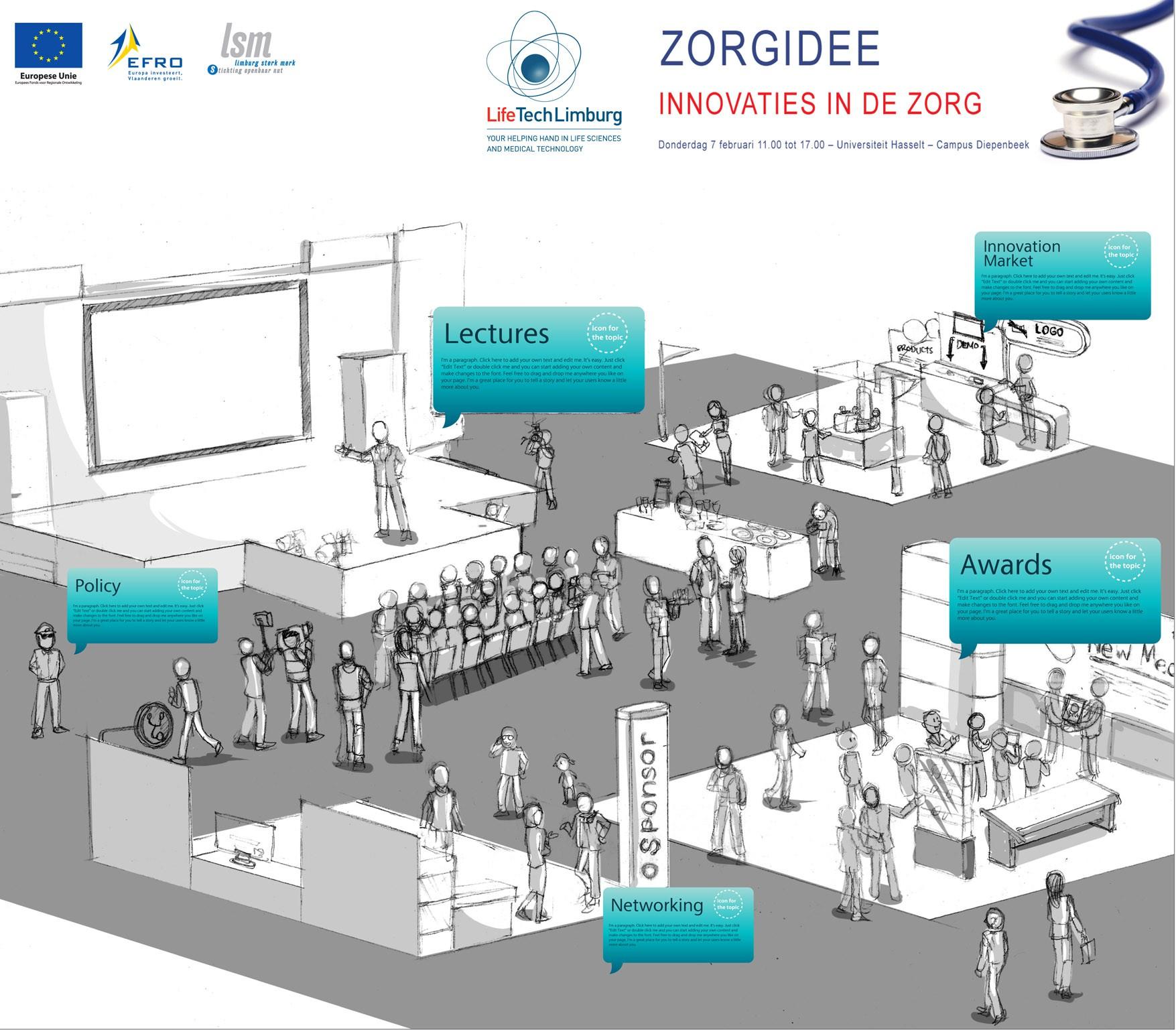 Infographic for LifeTech Limburg